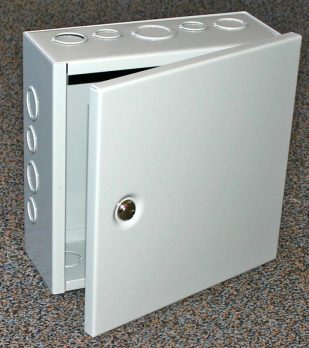 JBH Series Hinged Junction Box with Knockouts
