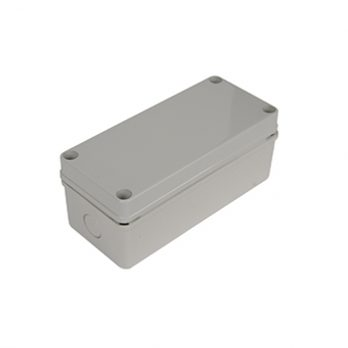 Fiberglass Box with Knockouts PTK-18424 closed