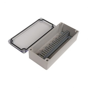Junction Box 20 Central Terminal Blocks with Clear over PTT-12090-C