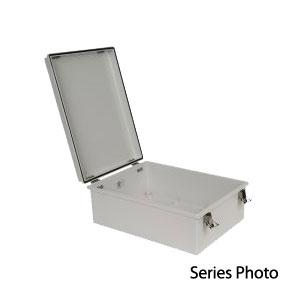 Fiberglass Box with Self Locking Latch