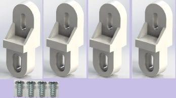 Plastic Mounting Bracket Kit PIX-4117