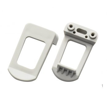 Belt Clip for Grabber Series Enclosures - Gray HH-3595-BCG