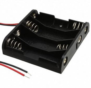4 AA Battery Holder HH-3633