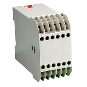 DIN Rail Mount Box with Tiered Contacts