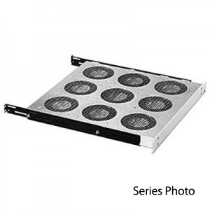 Rack Fan Tray Gray