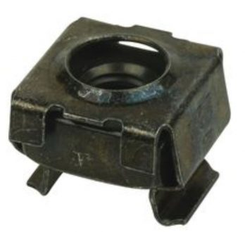 12-24 cage nut, zinc plated