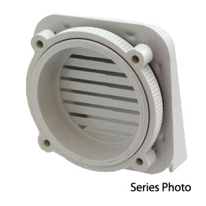 Large Air & Moisture Vent 3.94 x 3.78 x 2.58 Inches IPV-1116