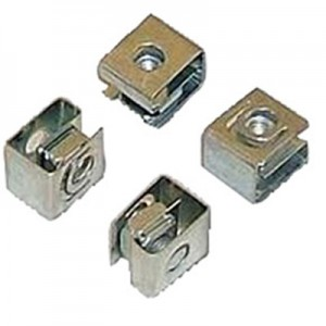 10-32 cage nut, zinc plated
