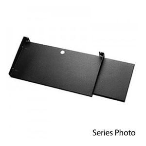 Stationary Keyboard/Mouse Shelf Gray SA-1775-MG