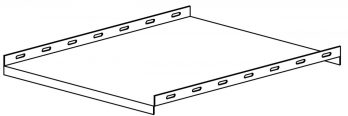 Non-Ventilated Stationary Shelf 17.91 x 19.25 inches