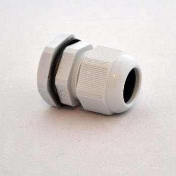 IP66 Nylon Cable Gland Thin Wall Gray IPG-22219-G