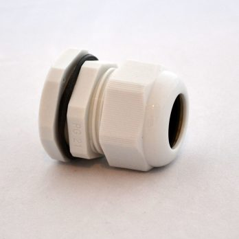 IP66 Nylon Cable Gland Thin Wall Gray IPG-22221-G