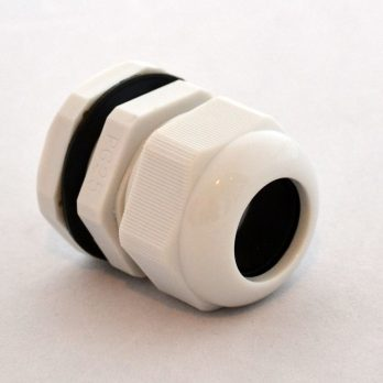 IP66 Nylon Cable Gland Thin Wall Gray IPG-22225-G