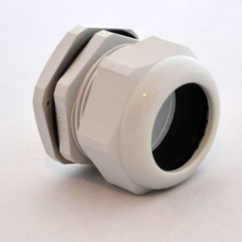 IP66 Nylon Cable Gland Thin Wall, Gray PG-42, for 1.18-1.5 Inch Cables