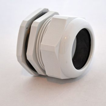 IP66 Nylon Cable Gland Thin Wall, Gray PG-48, for 1.34-1.73 Inch Cables