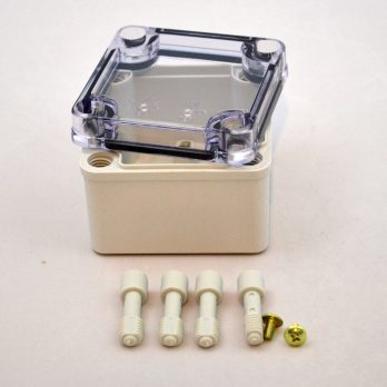Fiberglass Box Clear Cover PTS 25302
