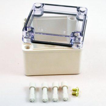 Fiberglass Box Clear Cover PTS 25304 C
