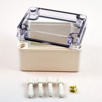 Fiberglass Box With Clear Cover PTS 25308 C