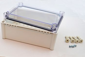 Fiberglass Box With Clear Cover PTS 25340 C