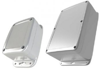 PU Series IP68/NEMA 6P Plastic Enclosure with Mounting Flanges