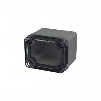 Fiberglass Box Clear Cover PTS 25301 Closed