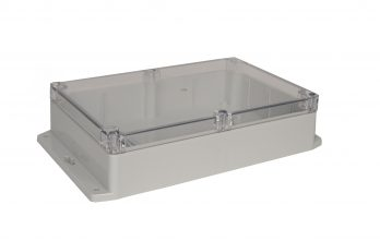 NEMA Box with Clear Cover and Mounting Brackets PN-1325-CMB