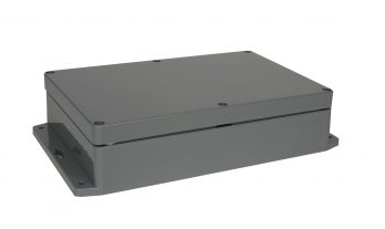 NEMA Box Dark Gray with Mounting Brackets PN-1325-DGMB