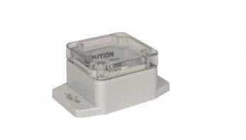 NEMA Box with Clear Cover and Mounting Brackets PN-1330-CMB