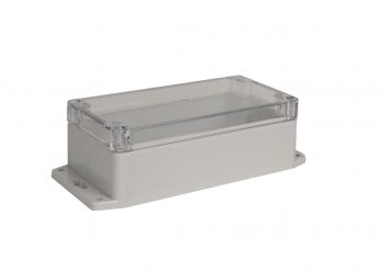 NEMA Box with Clear Cover and Mounting Brackets PN-1332-CMB