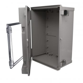 An IP66 Enclosure with clear door