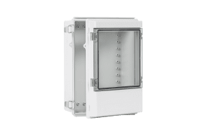 AIO IP66 All-In-One Hinged Clear Window Enclosure