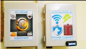 Bud NEMA 4x Plastic Enclosure is great for home automation