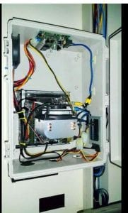 This is the inside of the NBF used for a home automation computer